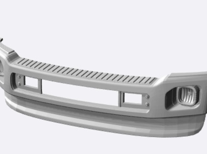 1/10 Ford Excursion Front bumper F-Series 3d printed