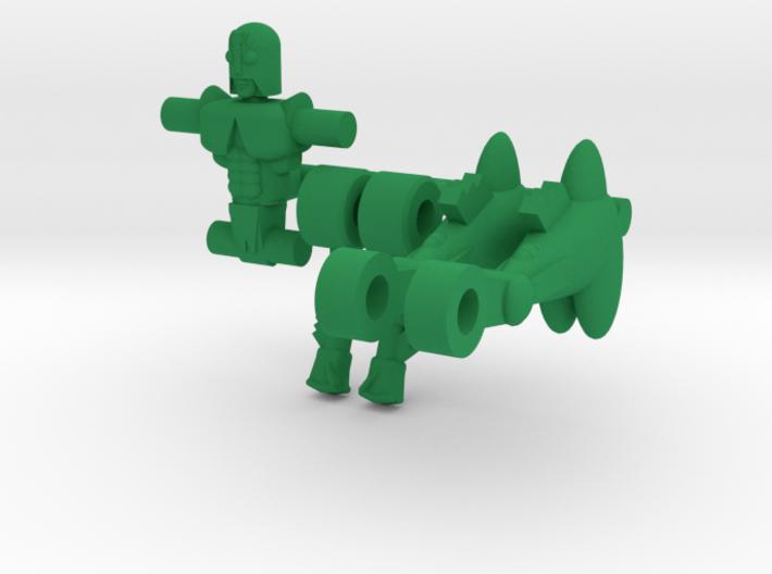 Microclone Bug 3d printed