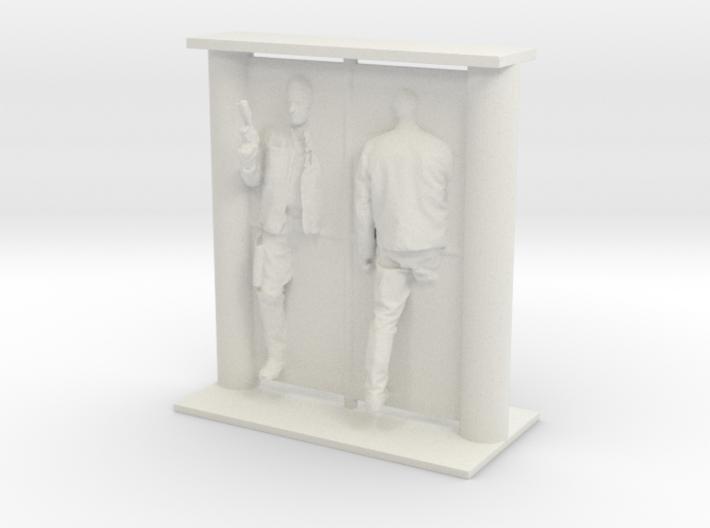 Printle Visions Mirror - H002 - 1/24 3d printed