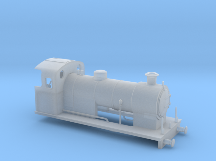 009 Maunsell 0-6-0 1 (Prairie Chassis) 3d printed