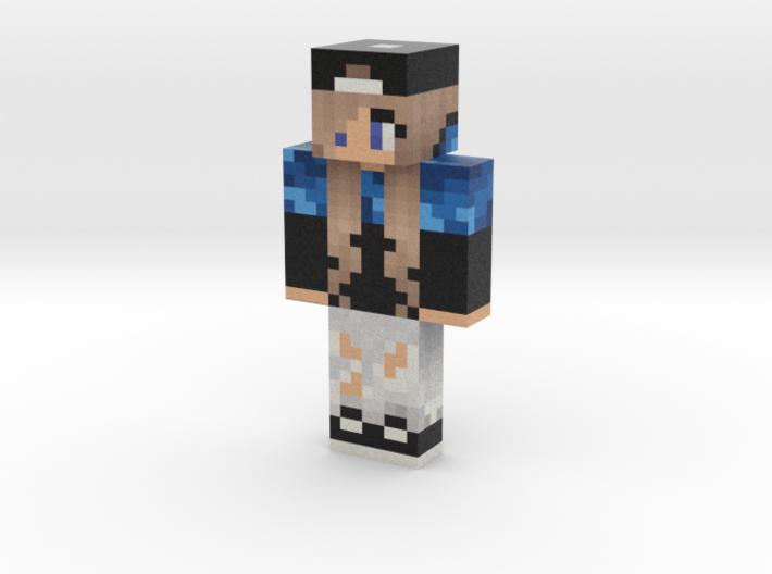 Zockey | Minecraft toy 3d printed