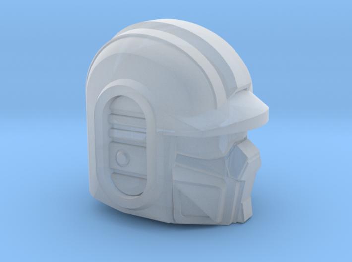 Bad Cop Head 3d printed
