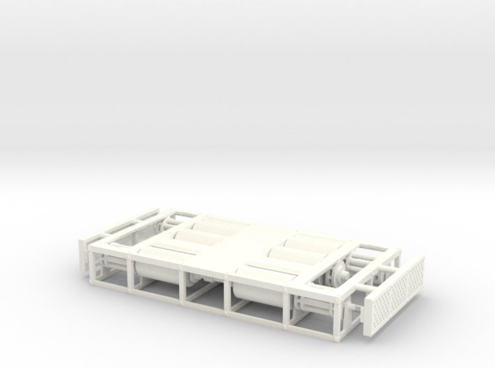 1/50th Dyno Dynamometer Chassis Test Platform 3d printed