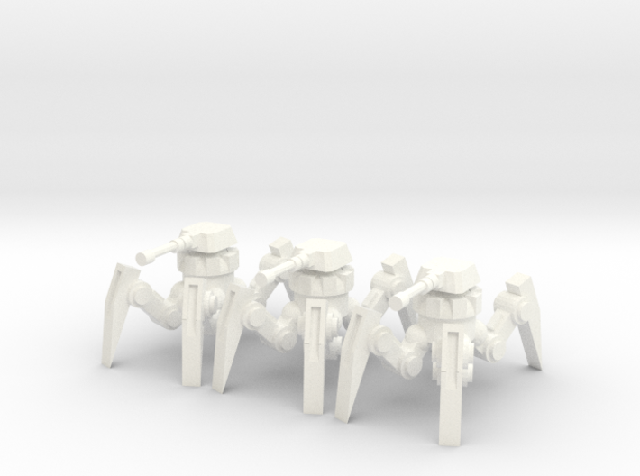 6mm - Cannon Spider Bot 3d printed