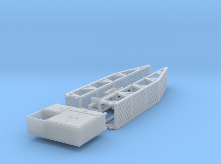 1/64th Dyno Dynamometer Shop Accessories Set 3d printed