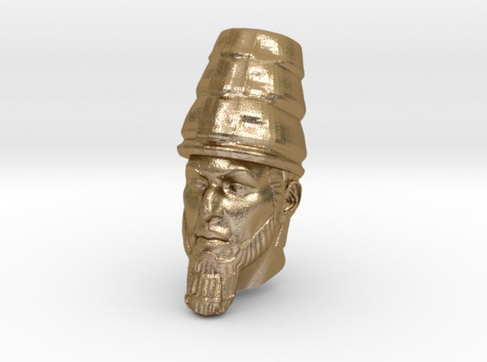 Daniel 2 Statue - Babylonian Head of Gold 3d printed