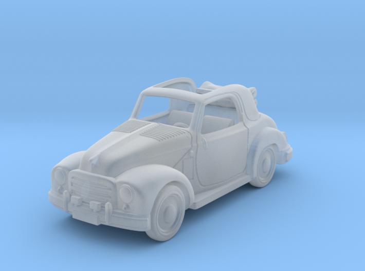 Fiat Topolino 1950 1:87 HO 3d printed