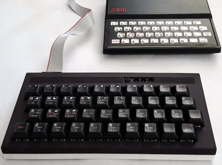 ZX-KEY Keyboard Case 'Top Plate' 3d printed Full Case, Including Starter, Top & Base Plate.
