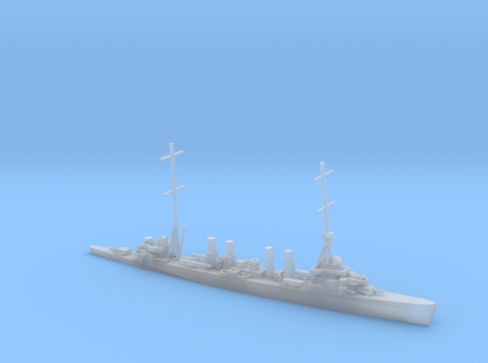 1/1800 Scale USS Omaha CL-4 1941 3d printed