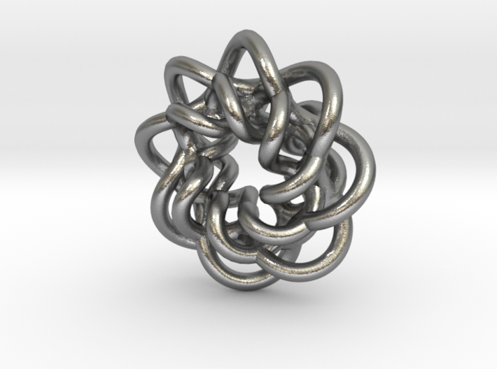 braided_charm 3d printed