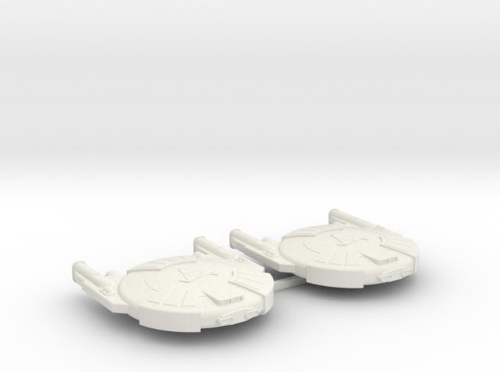 3125 Scale Andromedan Cobra Destroyers (2) SRZ 3d printed
