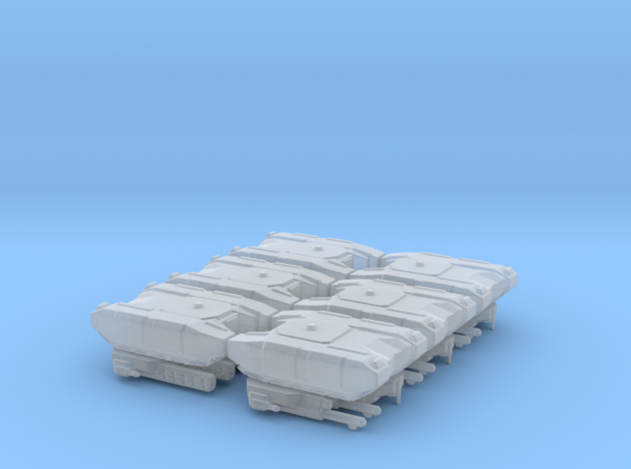 BOGATYR TANK (RUS FACTION) 6 PACK 3d printed