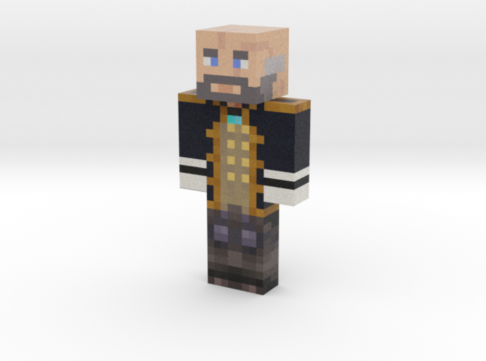 Pp08 | Minecraft toy 3d printed
