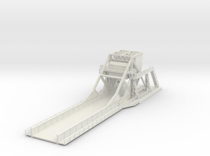 3D View of 1/144 Pegasus Bridge 3d printed