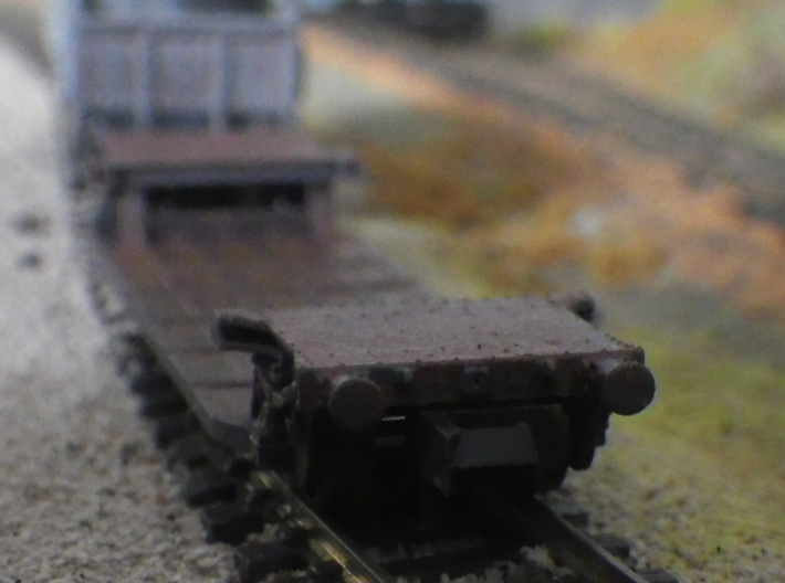 GWR G27 Loriot W 3d printed End view