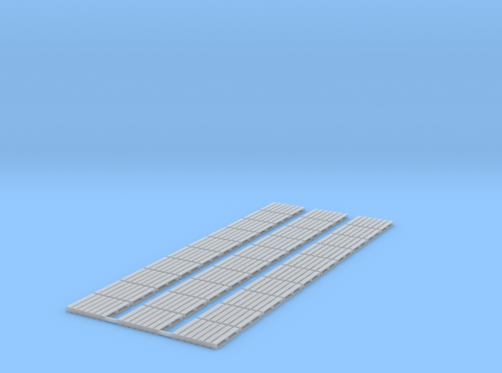 1:72 Scale Pallets (30x) 3d printed