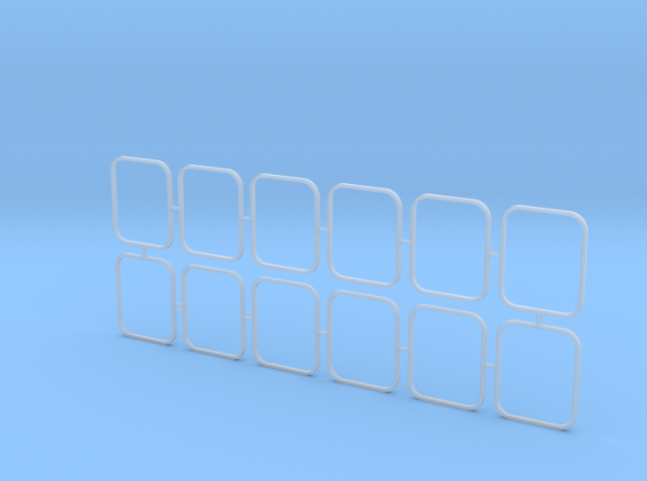 2810 ASD Outside Window Frames 1/50 3d printed