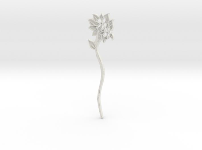 Everspring Hairstick 3d printed