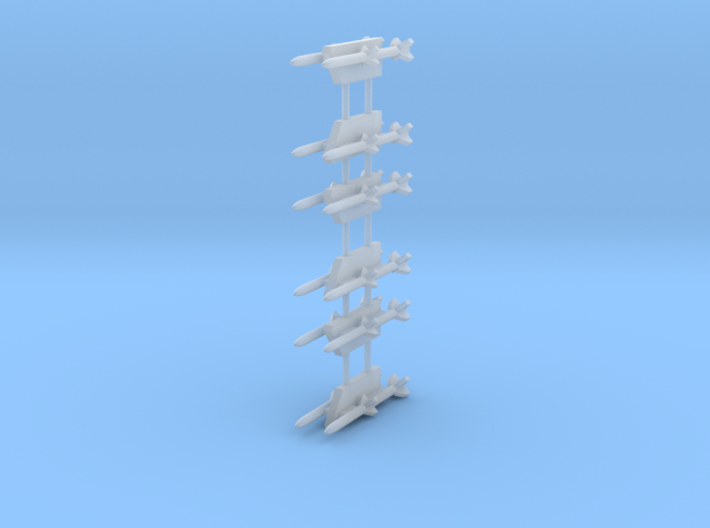 AIM-120 AMRAAM 2-Rack 3d printed