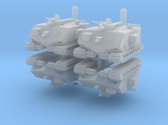 30Japan Cruiser 6mm X4 3d printed