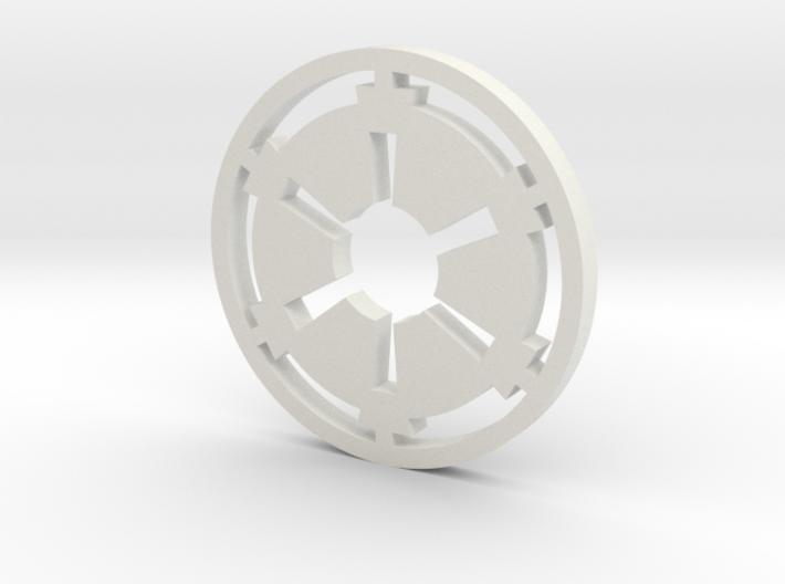 Galactic Empire Symbol 3d printed