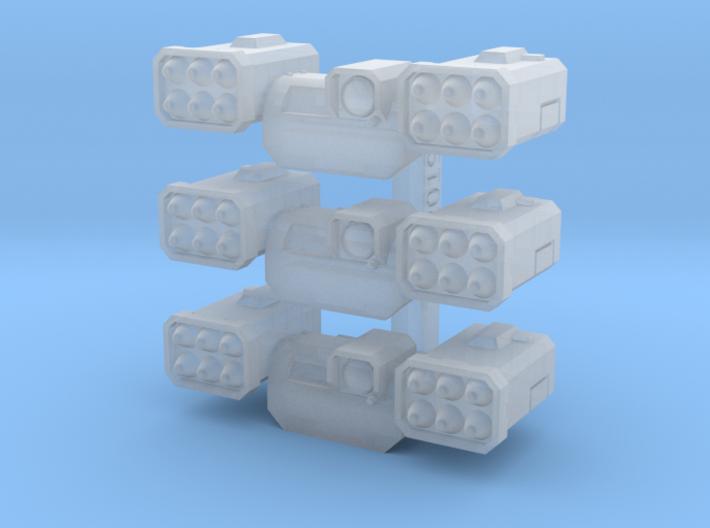 Fragstorm Launcher V1 X3 3d printed