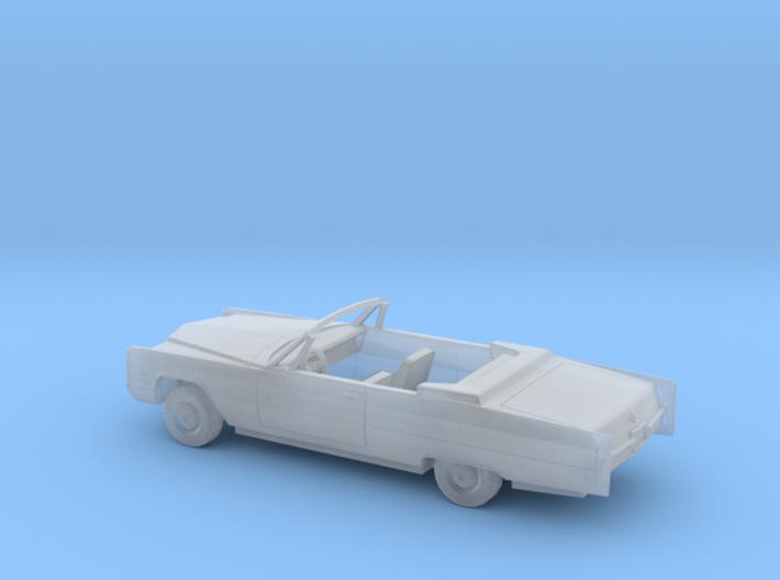 1/87 1966 Cadillac DeVille Convertible Kit 3d printed