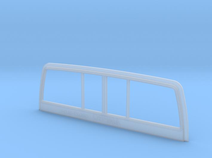 058027-01 Tamiya Blackfoot Rear Window Trim 3d printed