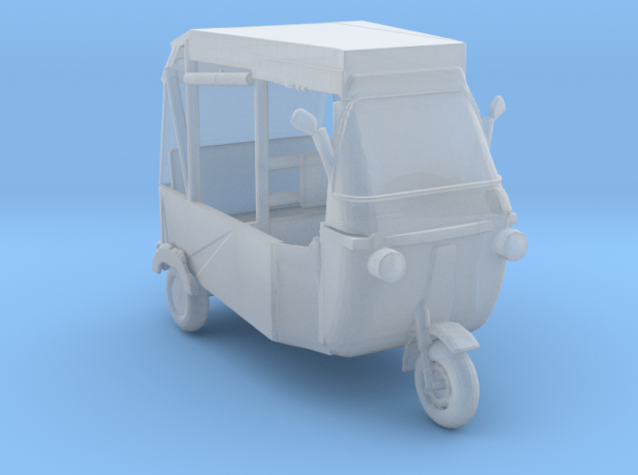 HO Scale Modern Rickshaw 3d printed This is a render not a picture