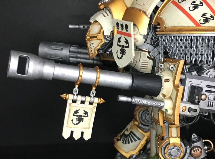 Knight Weapon Tips 2.0 3d printed