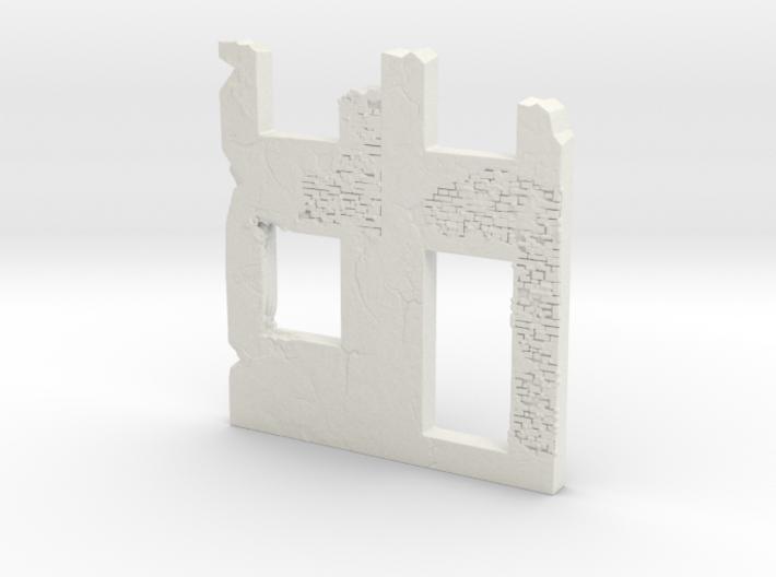 Building wall ruins 1.100 3d printed