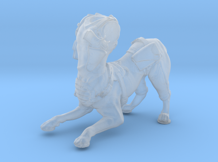 Anthropomorphic male light armor dog taur 3(HSD mi 3d printed