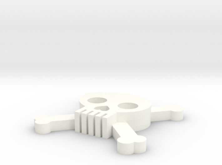 [1DAY_1CAD] SKULL & BONES 3d printed