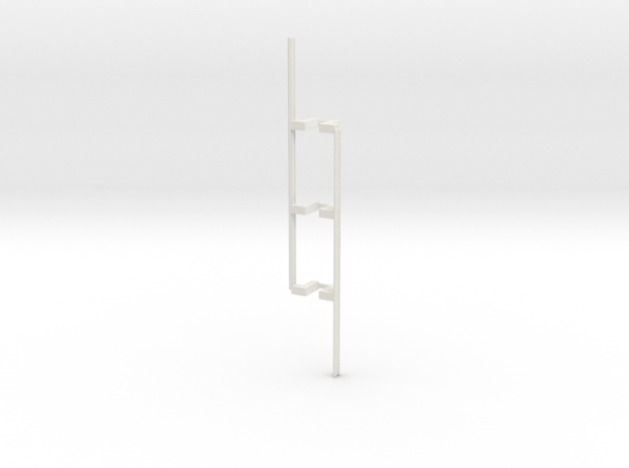 Guardrail - 3-Bay Right 3d printed Part # GR-004