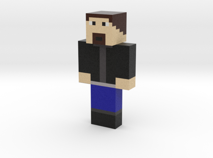 endhlrad | Minecraft toy 3d printed