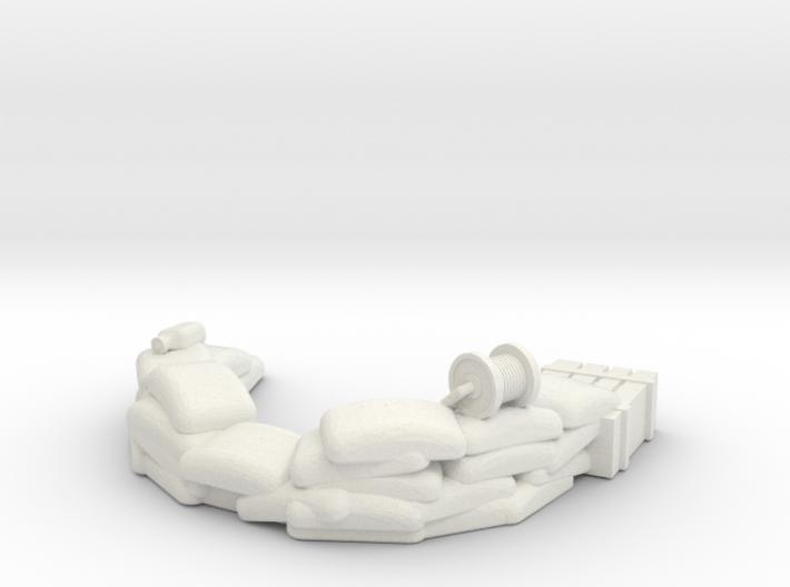 Sandbag Emplacement 1/48 3d printed