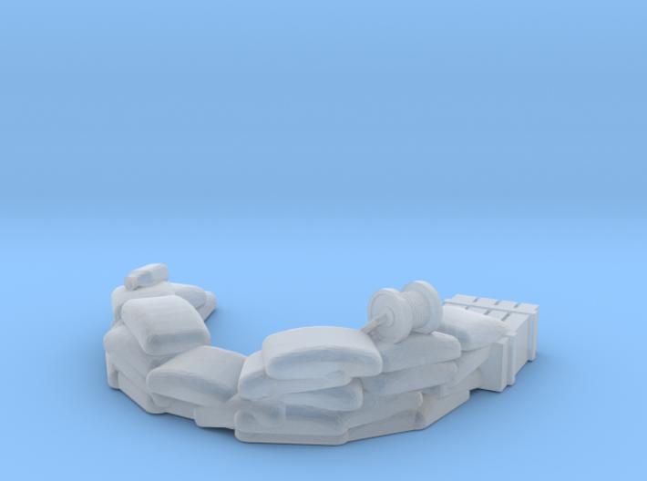 Sandbag Emplacement 1/160 3d printed