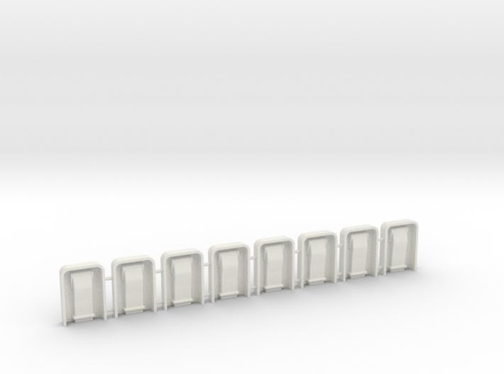 EC135 Door Hardware 1/6 (8) 3d printed