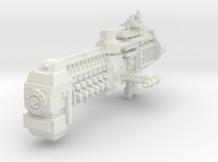 Crucero Monitor clase Torno 3d printed