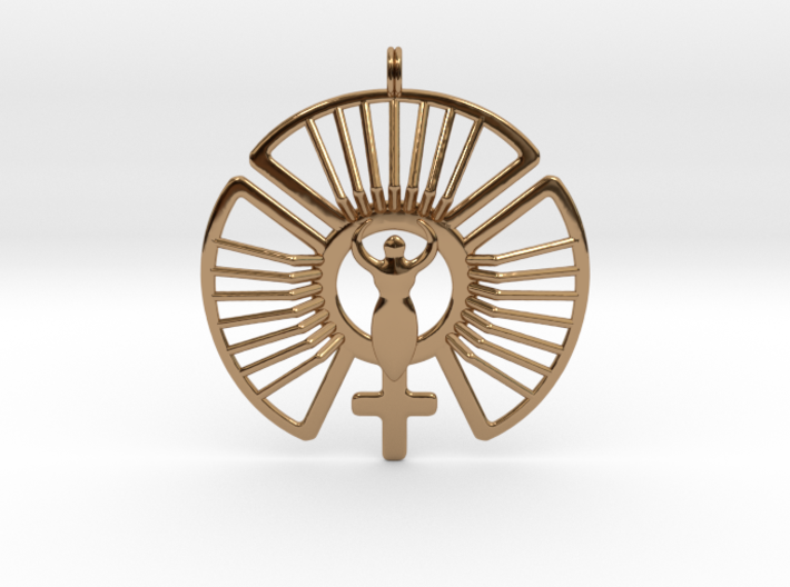Solar Feminine Venus Jewelry Symbol Necklace Yf5geqbj4 By Symbolica