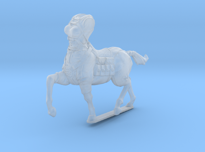 female light armor centaur 2 (HSD miniatures) 3d printed