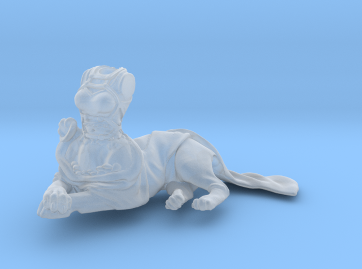 Anthropomorphic female light armor cat taur 2 (HSD