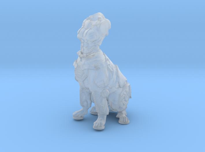 Anthropomorphic female heavy armor dog taur 1(HSD 3d printed