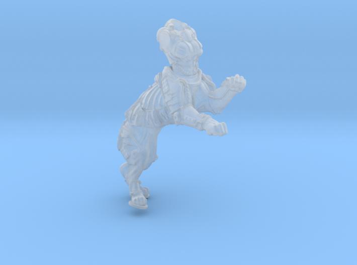 Anthropomorphic female heavy armor cat taur 1(HSD 3d printed