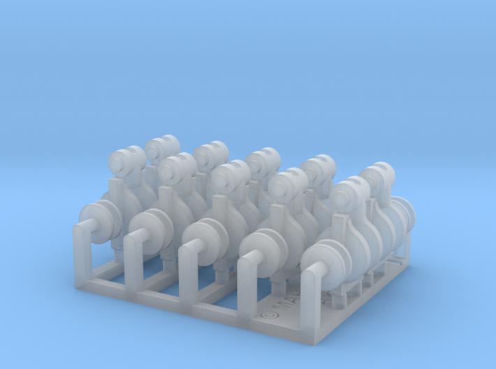 Single cargo block set 1/48 3d printed
