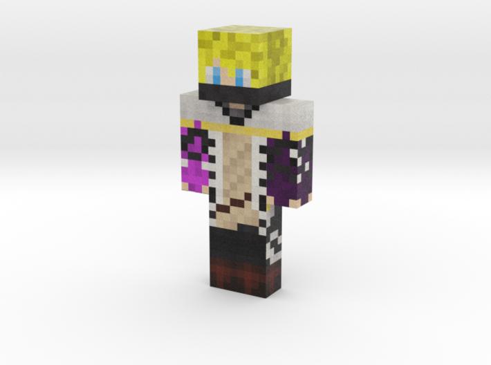 ArashiXD | Minecraft toy 3d printed