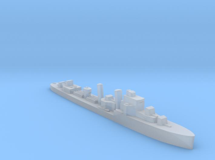 HMS Inglefield 1:2400 WW2 destroyer 3d printed