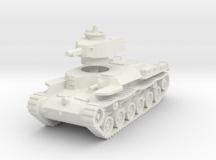 Chi-Ha Tank 1/56 3d printed