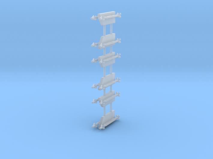 AIM-9X Sidewinder 2-Rack 3d printed