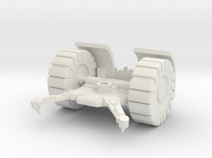 Space Orks Cannon Base Type 01 3d printed